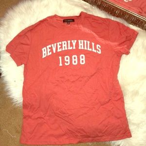 Beverly Hills graphic tee size XS NWOT